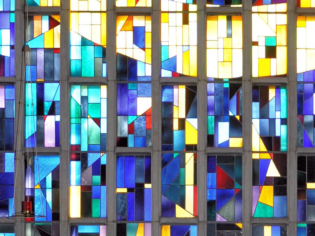 Kirche Amorbach, Detail Fensterausschnitt