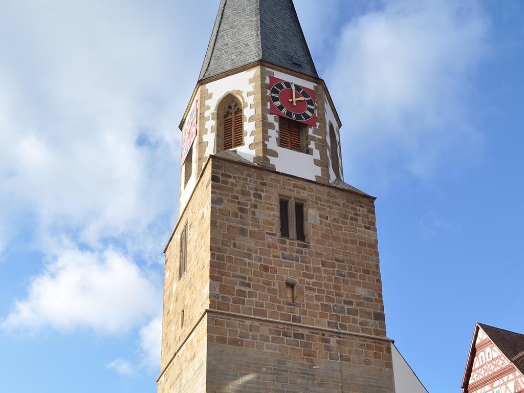 Kirche Brackenheim, Aussenaufnahme Kirchturm