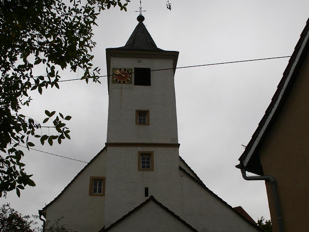 Kirche Horkheim, Aussenaufnahme Kirchturm