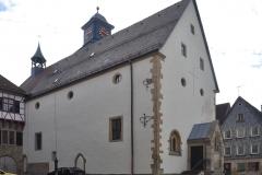 Kirche Neuenstadt Nord-West Fassade