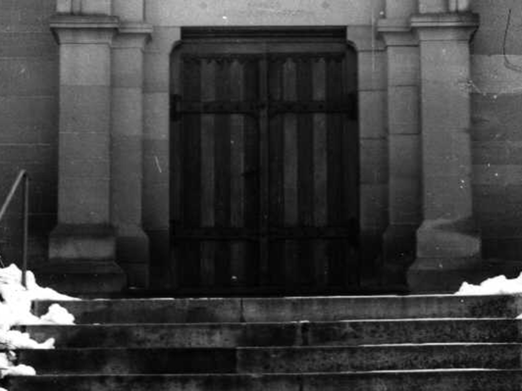 Kirche Bachenau, Aufnahme Haupteingang