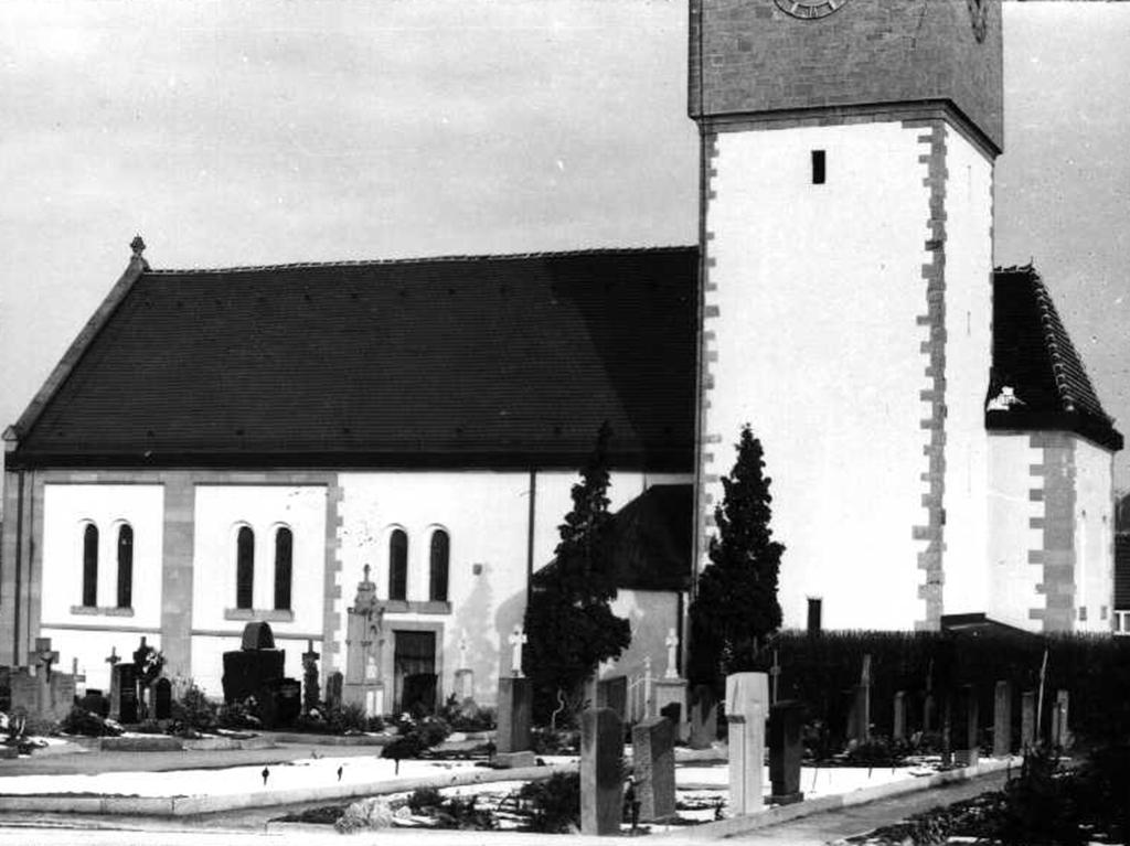 Kirche Bachenau, Aufnahme Südseite