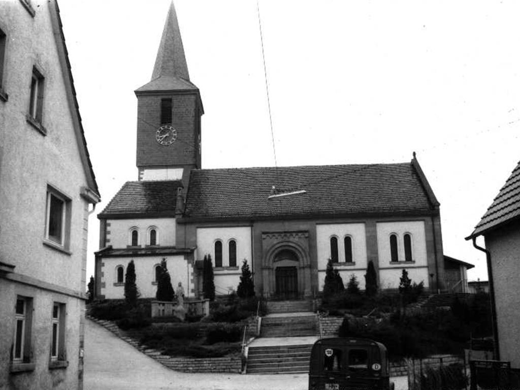 Kirche Bachenau, Aufnahme Nordseite