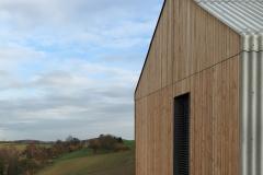 Nordost Ansicht der Fassade