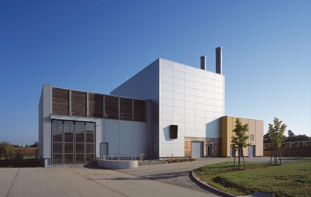 Biomasse-Kraftwerk in Neckarsulm